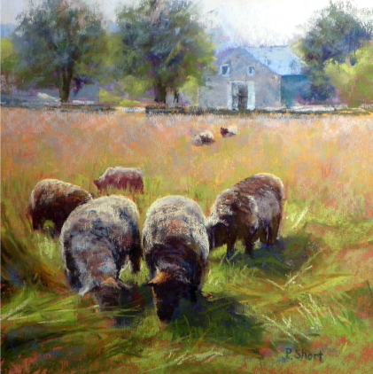 Yvonne Hemingway painting